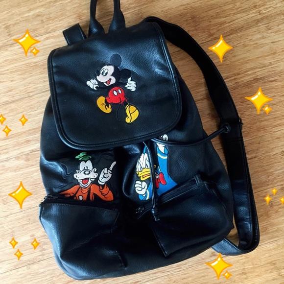 Disney Handbags - 🚨Reserved🚨Vintage Disney Backpack 90 s - Mickey