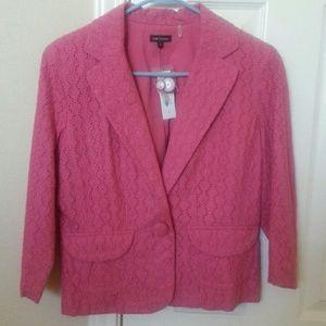 NWT pink blazer