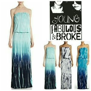 Young Fabulous & Broke Dresses & Skirts - Young Fabulous & Broke Strapless Dress