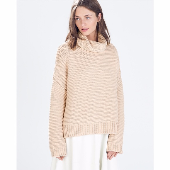 2d0c81de Zara High Neck Sweater - BLOGGER FAVE. M_5611a13db4188e32850144da