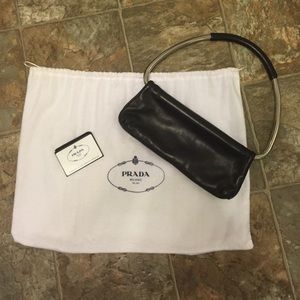 inspired prada handbags - Black Prada vintage bag on Poshmark
