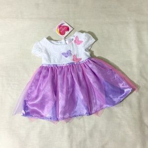 Other - NWT Baby Girl Purple Tulle Fairy Dress