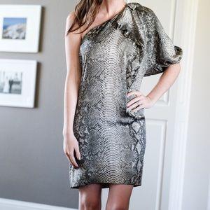Stella McCartney Dresses - Stella McCartney Python silk dress 38