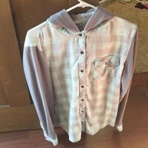 Brand new without tags! Flannel/sweatshirt!