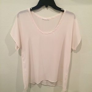 Lush Short sleeve blouse