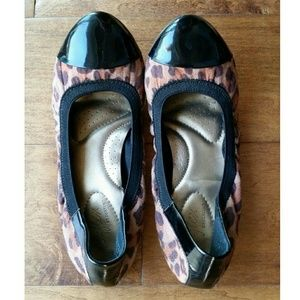 Shoes - Leopard flats (Price negotiable)