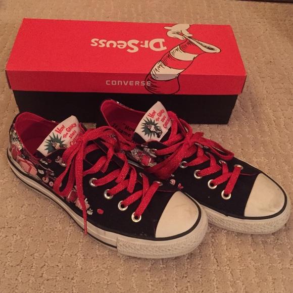 Dr. Seuss CONVERSE Sneakers Grinch Stole Christmas