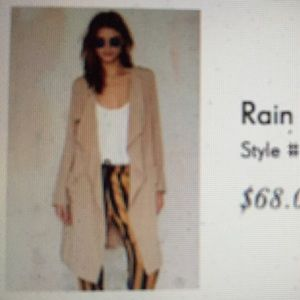 Nasty Gal Rain or Shine Jacket BRAND NEW