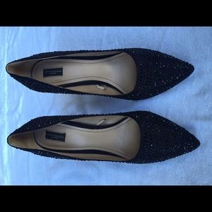 Zara Collection by Basic Sparkly Pumps