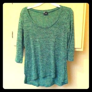 Sparkle and Fade UO green sweater