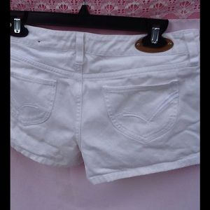 BONGO Pants - White  shorts Bongo shorts cotton size 11 pockets