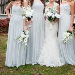After Six  Dresses & Skirts - Gray Bridesmaid Dress