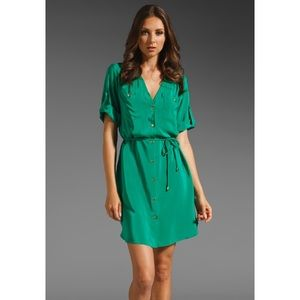Amanda Uprichard Dresses & Skirts - [Amanda Uprichard]'Military' silk dress