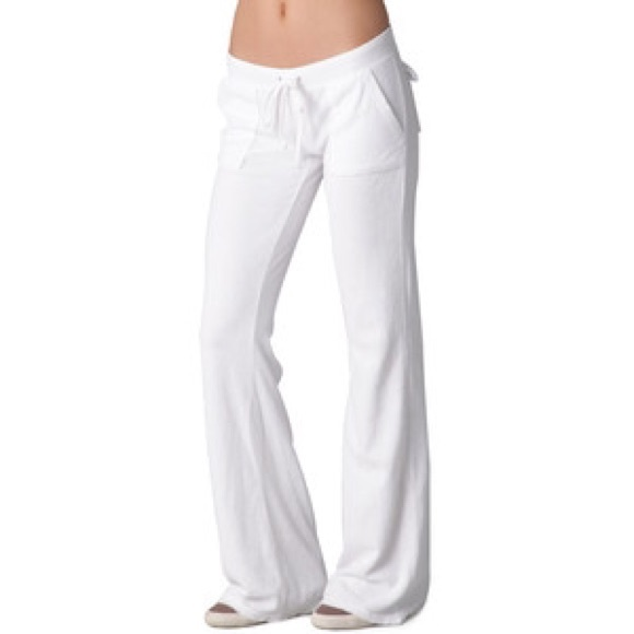Juicy Couture Pants - White Juicy Couture Terry cloth pants 92800ae2dfac