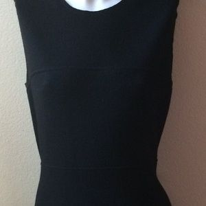 Prada Dresses - Prada Wool Flounce Little Black Dress