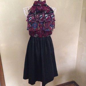 Rampage Paisley Print Dress