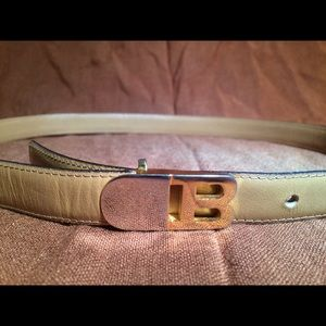 ON HOLD - Bally Belt with B logo