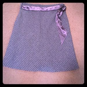 Old navy black and grey tweed skirt size 6 NWOT