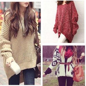 Sweaters - Bundle of 3 sweater