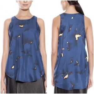NWT 3.1 Phillip Lim Blue Off The Wall Tank size 4