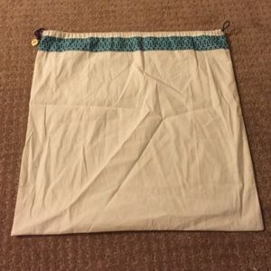 Extra large Tory Burch dust bag