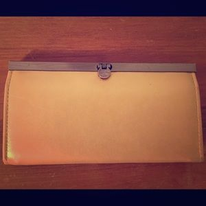 Handbags - Yellow Clutch Purse/Wallet