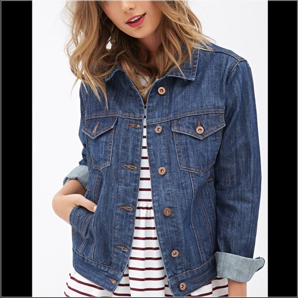 1b17f6916 Forever 21 Jean jacket