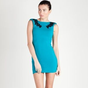 Motel Rocks Dresses & Skirts - MOTEL ROCKS 👗 Blue Embroidered Dress