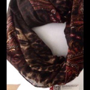 African print style infinity Merona scarf