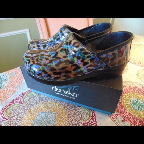 Dansko Shoes   Dansko Clogs Leopard