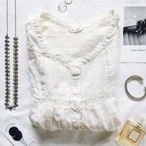 Heritage 1981 Tops - Heritage 1981 | Cream blouse