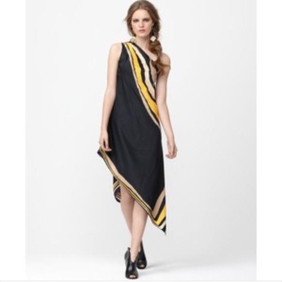 3f0b551b4492f Rachel Roy The Donna Sleeveless One Shoulder Dress.  M 56f17b55291a355990005703