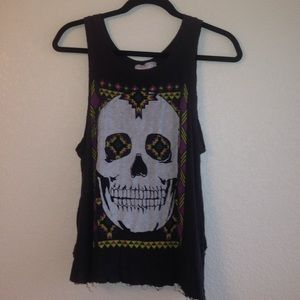 Open-Back Skull Tank from Urban Outfitters