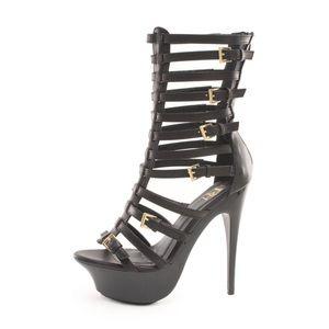 FRH Shoes - Tasha Gladiator Caged Heel