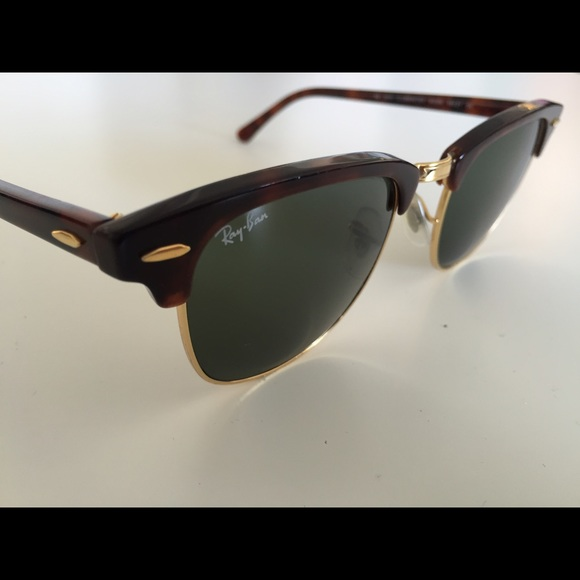 431f3529b0 Ray-Ban CLUBMASTER Frames in Brown Tortoise   Gold.  M 5612e03e2599fe4bd000291a