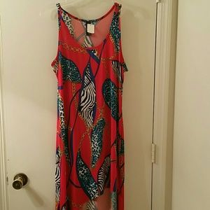 NWT Assymetric Dress