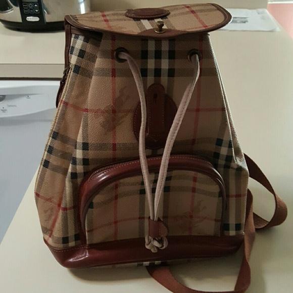 Burberry Handbags - Burberry backpack purse 5b62d36186b65