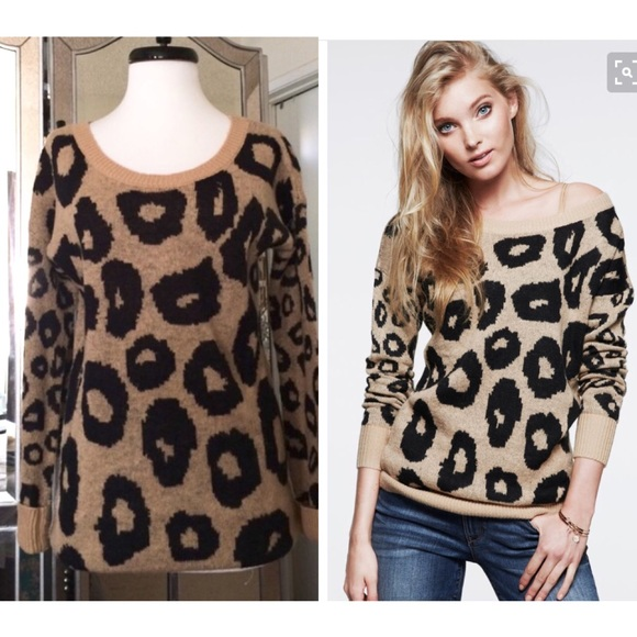 dcbbd5b2d00b Express leopard sweater S. M_564e48932fd0b79e8c00356e
