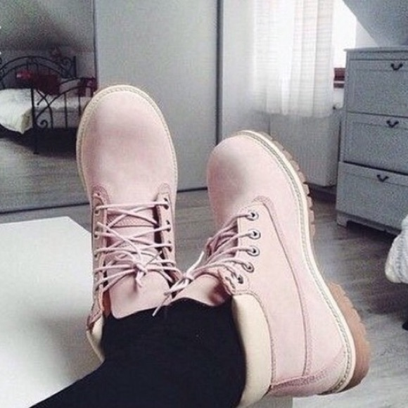 lavender timberland boots