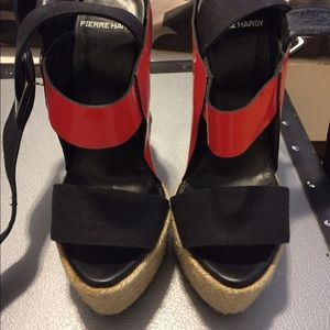 Pierre Hardy Shoes - AUTH 💯PIERRE HARDY wedges . Not worn! NWOT