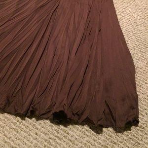 Larry Levine Dresses & Skirts - Boho Brown Tea Midi Skirt