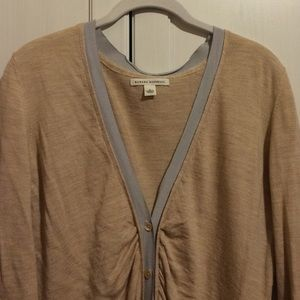 Banana Republic Sweaters - gorg gold wool cardigan 🏆