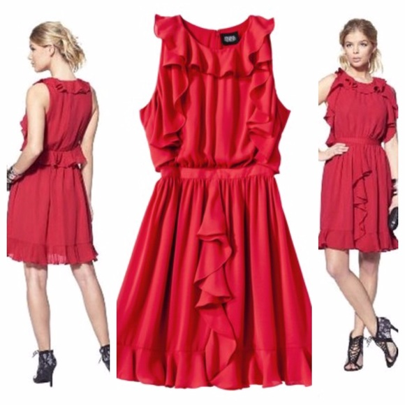 Red dress in stores target
