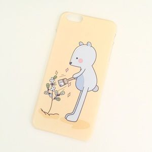 Accessories - iPhone 6 Plus Bear Illustration Case