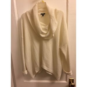Ivory oversized sweater