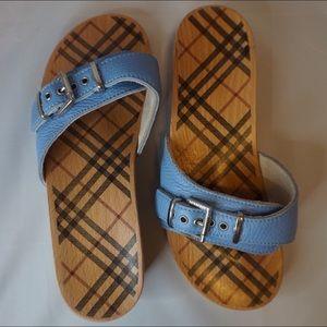 Burberry Clog Sandals