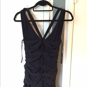 Vera Wang formal dress Black cocktail gown