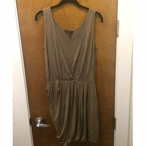 [BR] Drapey Taupe Dress