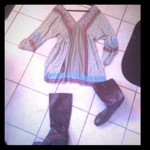 Zara bohemian dress