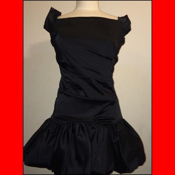 Nicole Miller Collection Dresses Nicole Miller Black Bubble